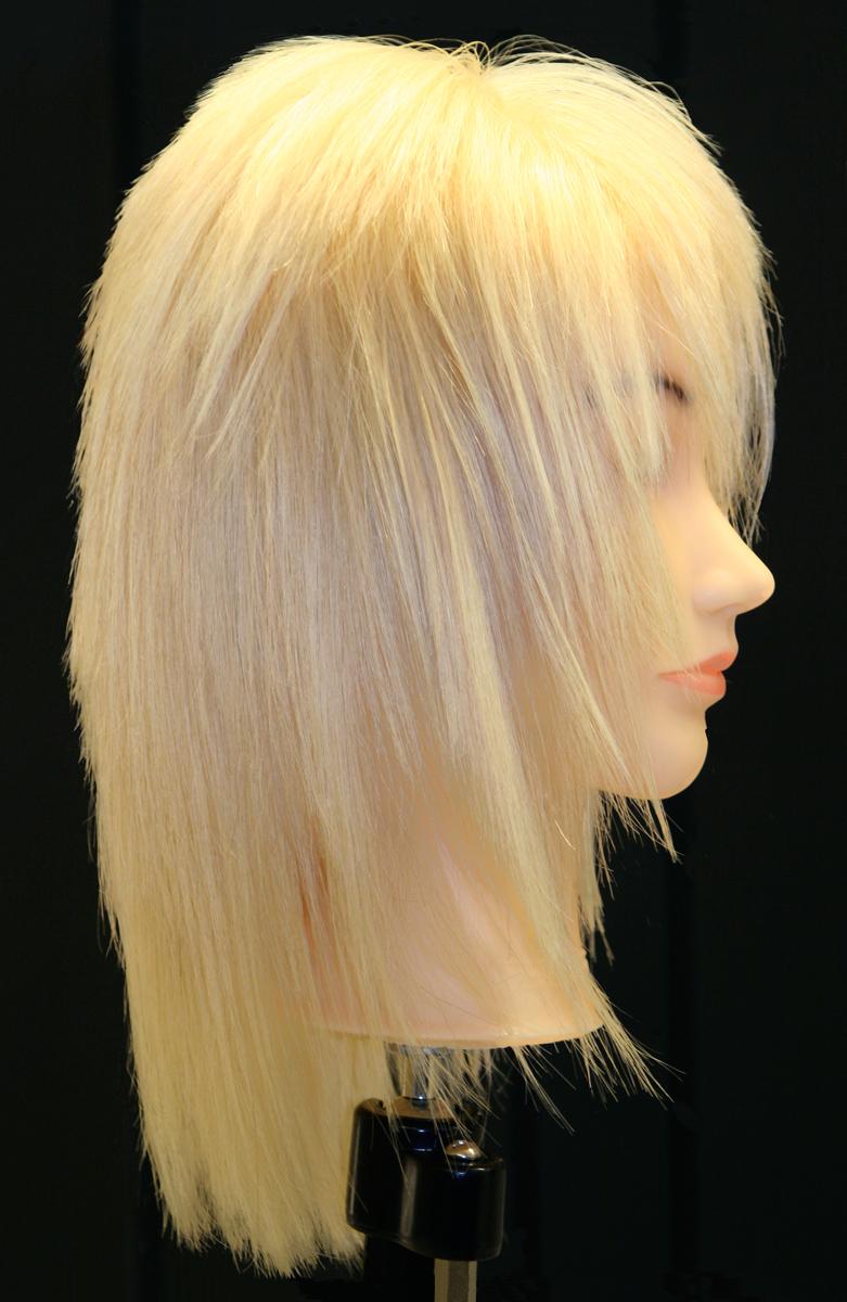 Hair Dyed Blond